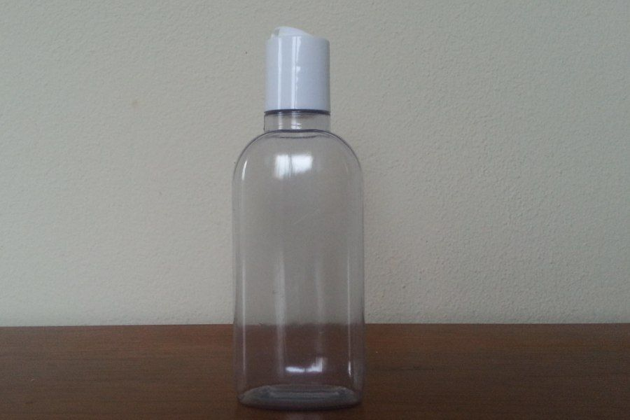 Flacone miscelatore per shampoo